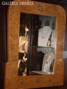 Tükör, Art-decó fa keretben