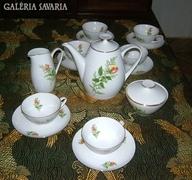 Meseszép Bohémia Cseh kávéskészlet