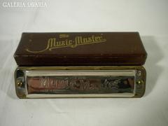 U079 Antik MUSIC MASTER szájharmonika