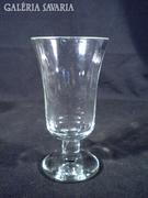 S640 Antik üvegpohár 1880 körüli