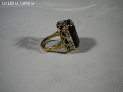 S531 Régi női lila köves gyűrű
