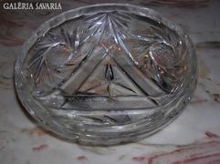 Ólomkristály  tál /hamutál