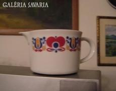 Retro keletnémet FREIBERG CORDO porcelán kiöntő