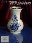 Bavaria  porcelánváza, 800-as ezüst verettel a tetején!