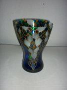 Öblös kézzel festett üveg