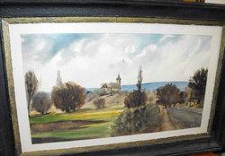 Madarász Tibor akvarell