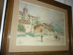 Akvarell/St Tomaso Arco