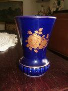 22 karátos Echt Cobalt Bareuther Waldsatsen váza