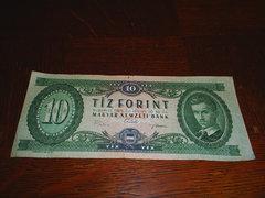 10 Ft - Tíz forint - 1969. június 30.