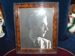 Antik fotó korabeli keretben - 36 x 30 cm