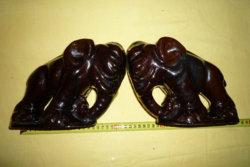 Komlós Elefánt könyvtámaszok párban!!!!