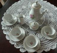 Álomszép csehszlovák Thun teás készlet
