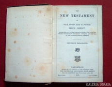 The New Testament, Cambridge 1873.
