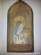 Dr. Rank kerámia falikép Ave Maria