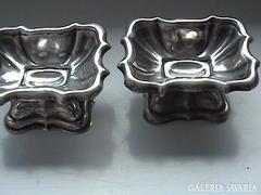 Antik ezüst fűszertartó párban