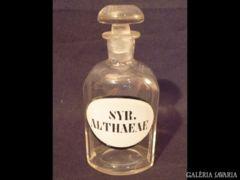 1143 G4 Antik patika üveg