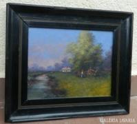 Zorkóczy Gyula  1873 - 1932 .  festmény olaj/ vászon