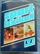 Sportlexikon  második kötet l-z