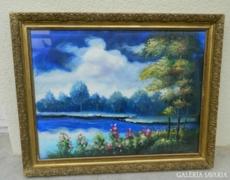 Fazekas Péter Pál csodaszép impresszionista festménye