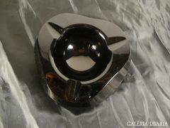 A050 G2 Régi Moser jellegű sötétlila üveg hamutál
