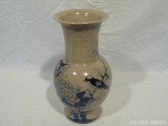 3324 I4 Antik keleti japán dekóros váza