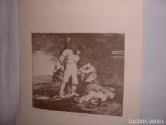 Francisco de Goya: Y no hai Remedio.  NYOMAT