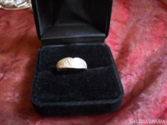 Ezüst gyűrű  szép mintával