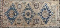 0328 Antik afgán szőnyeg elefánttalp 325 x 151 cm