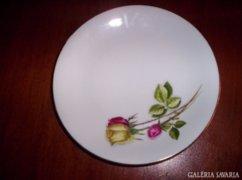 Gyönyörű rózsamintás,6 db süteményes tányér, 17.5 cm