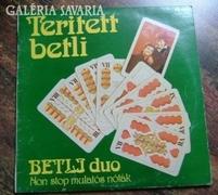TERITETT BETLI /  BETLI DUO / NON STOP MULAT (BAKELIT LEMEZ)
