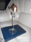 Gyertyatartó üvegből