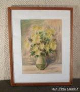 3591 Szabó Pál asztali virágcsendélet vázában