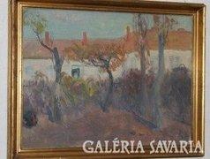 Béres Jenő festmény képcsarnokos