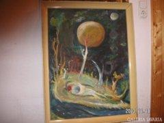 Soltész A. Festménye