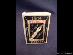 0038 G2 Régi papírdoboz BRAUSE FEDER