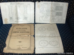 Az iparos-tanoncziskolák geometriai...1897