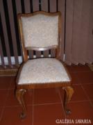 6 db neobarokk szék