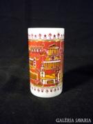 U264 Régi német Wallendorf porcelán váza