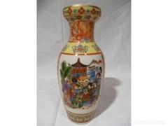 X105 G2 Porcelán kínai mintás váza