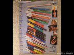 2455 T2 Retro ICo reklám plakát és naptár 1985