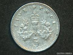 5 Penny (Five Pence) Anglia, 1991.
