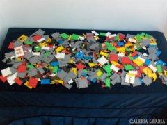 Retro építő játék - rengeteg darabos
