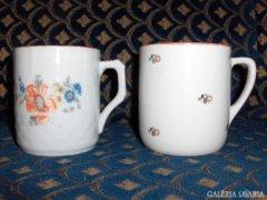 Régi porcelán teás csésze -2 db - gyűjtőknek