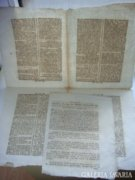 1792-es Wiener Zeitung újság  221 éves!! Eredeti!