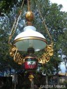 Majolika lüszter lámpa