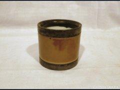 1453 G3 Antik porcelánbetétes fogpiszkálótartó