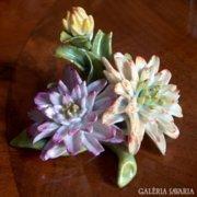 Nápolyi porcelán virágok