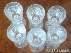 Olom kristály poharak!