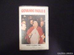 2760 D1 Pápalátogatás Torinó II. János Pál 1980