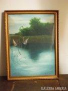 Molnár György festménye